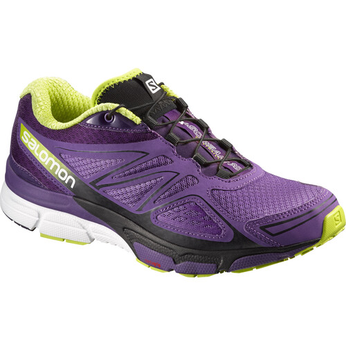 Salomon X-Scream 3D - Chaussures running Femme - violet sur campz.fr !